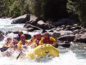 rafting val di sole